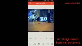 RView app installatie - Instructievideo