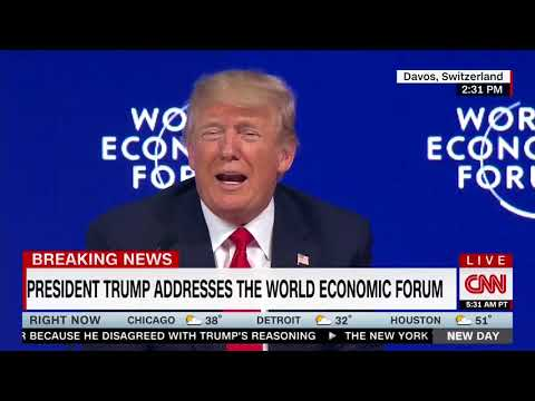 Trump Gets Booed at Davos After Taking Shot at Media: They Are 'Fake,' 'Nasty'