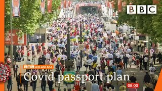Covid passport trials to begin this month @BBC News live 🔴 BBC