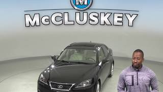 A10131TA Used 2011 Lexus IS 350 AWD Sedan Black Test Drive, Review, For Sale -