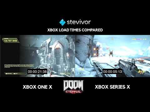 Xbox Series X vs Xbox One X: Doom Eternal loading times compared | Stevivor