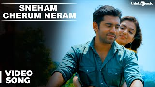 Download Hindi Video Songs - Official : Sneham Cherum Neram Video Song | Ohm Shanthi Oshaana | Nivin Pauly, Nazriya Nazim
