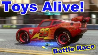 Cars 2: The video Game - Lightning McQueen - Vista Run Battle Race