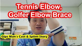 Tennis Elbow, Golfer Elbow Bra…