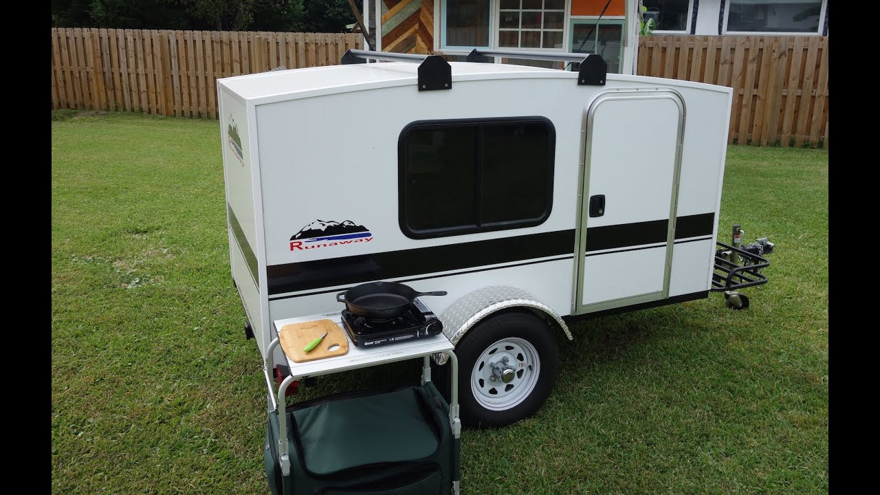 Handy Dandy Micro Camper Kitchen Youtube