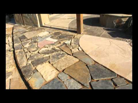 How to make a crushed granite patio