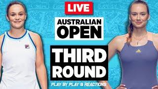 🔴 BARTY vs RYBAKINA | Australian Open 2020 | LIVE Tennis Stream Play-by-Play