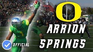 Arrion Springs || Lock Down Corner || Official Oregon Highlightsᴴᴰ