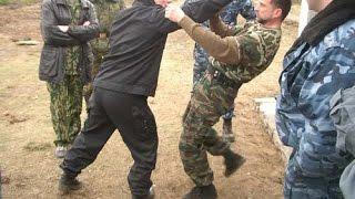 Русский рукопашный бой. Семинар Кадочникова.Звенигород 2002.Часть 2