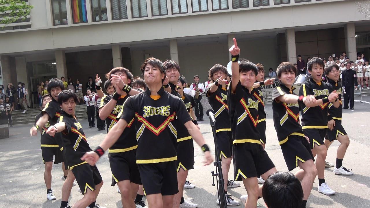 早稲田 大学 ショッカー ズ 東京・わたし:男子チア いつかオリンピックでも
