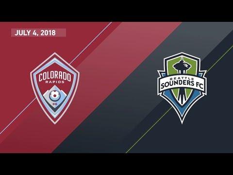 HIGHLIGHTS: Colorado Rapids vs. Seattle Sounders FC | July 4, 2018