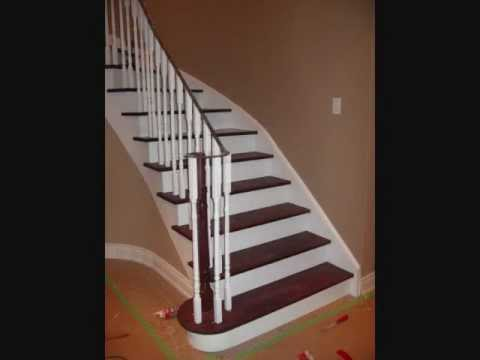 How We Install Hardwood Stairs In A Slide Show By FloorAdore Ltd.