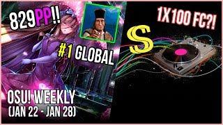 Rafis 829PP RECORD & #1 Global!, Big Black 1x100 FC!, WWW going INSANE! & more! - osu! Weekly #35