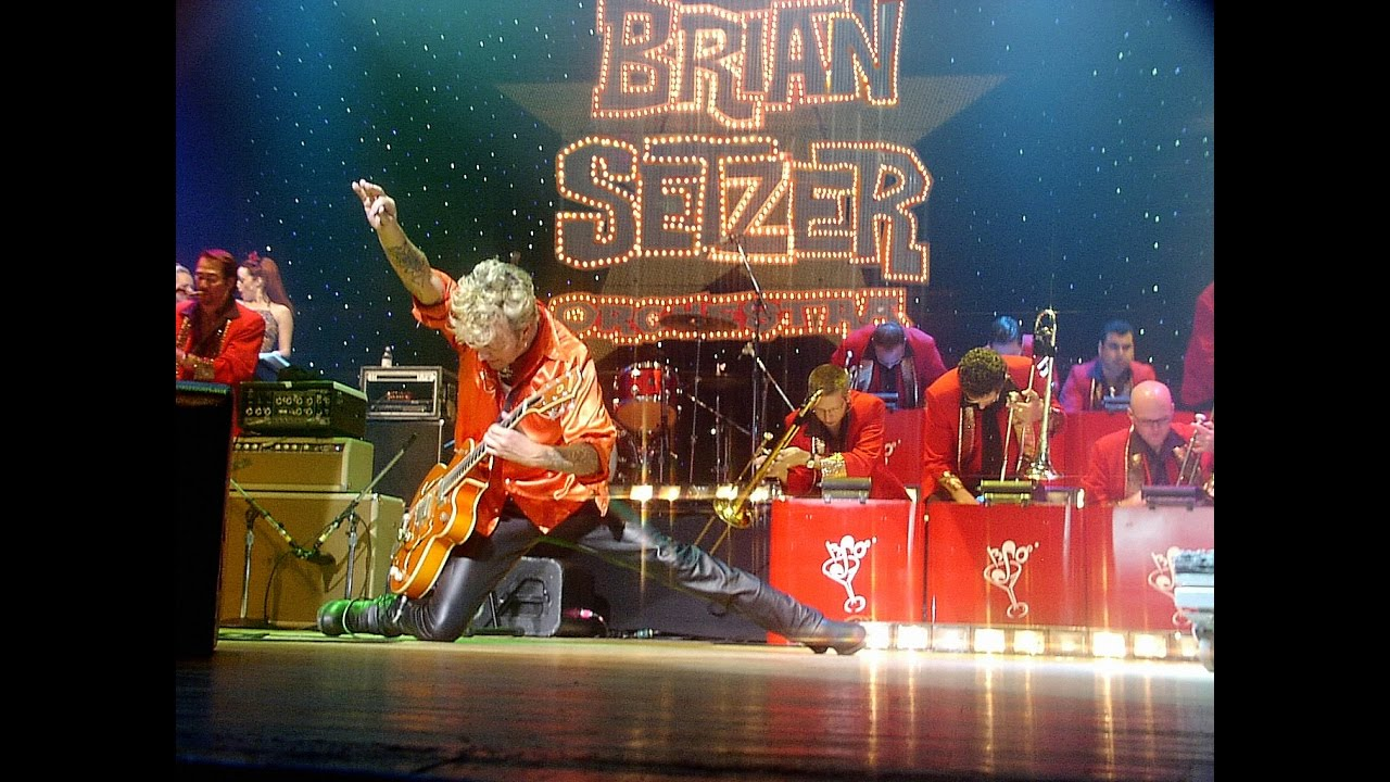 The Brian Setzer Orchestra Christmas - YouTube