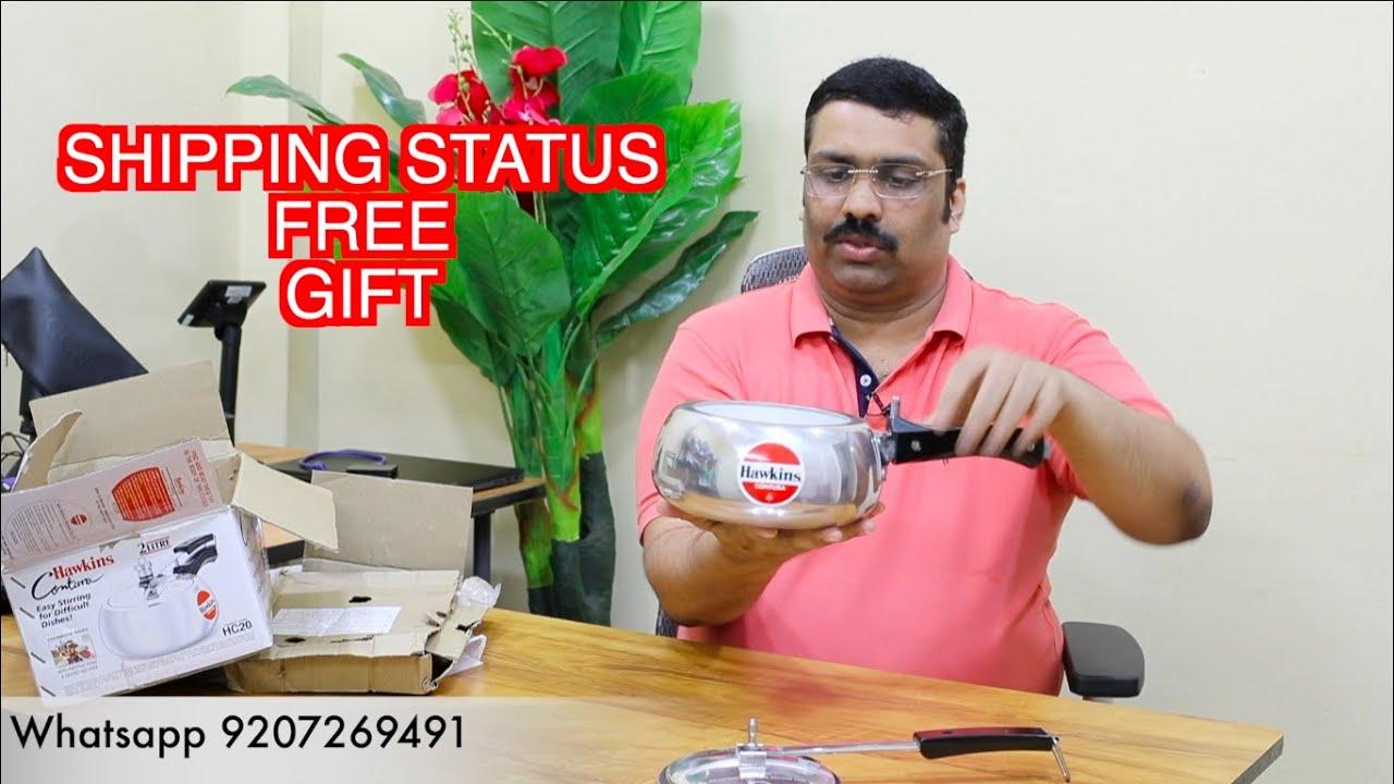 Free Gift Shipping Status