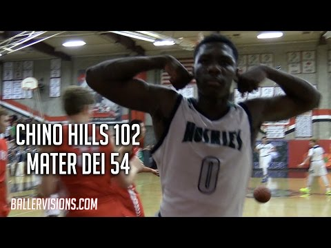 Chino Hills Blows Out Mater Dei To Move On To CIF-SS Finals! FULL Raw Highlights