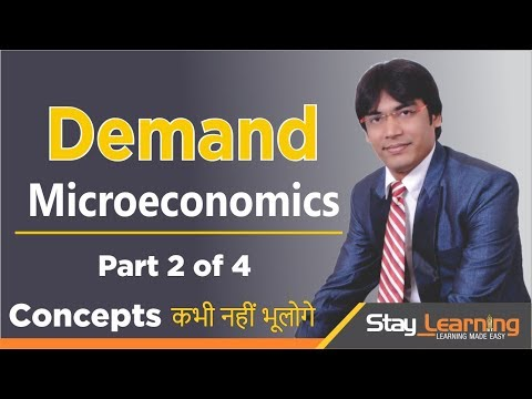 Demand - Part 2 of 4 Economics Class XII (CBSE) by Vijay Adarsh (StayLearning)