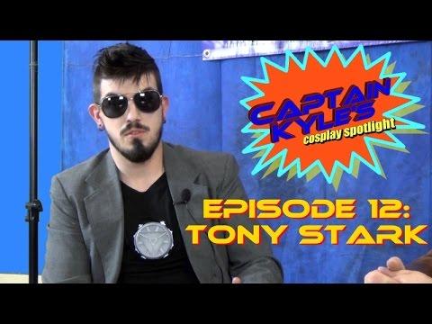 Tony Stark (feat. Mitch Pileggi / Rachel True) - Captain Kyle's Cosplay Spotlight -S01E12