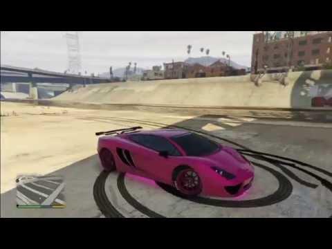GTA 5 Online - Pimp My Ride: Vacca Build - Hot Pink Green Lambo!