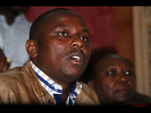 MP Kimani Ichungwah disowns offensive tweet ,claims the twitter account is fake
