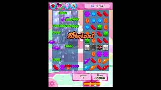 Candy Crush Saga Level 256 Walkthrough