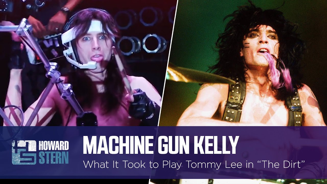 "How Machine Gun Kelly Got the Role of Tommy Lee in ""The Dirt"""