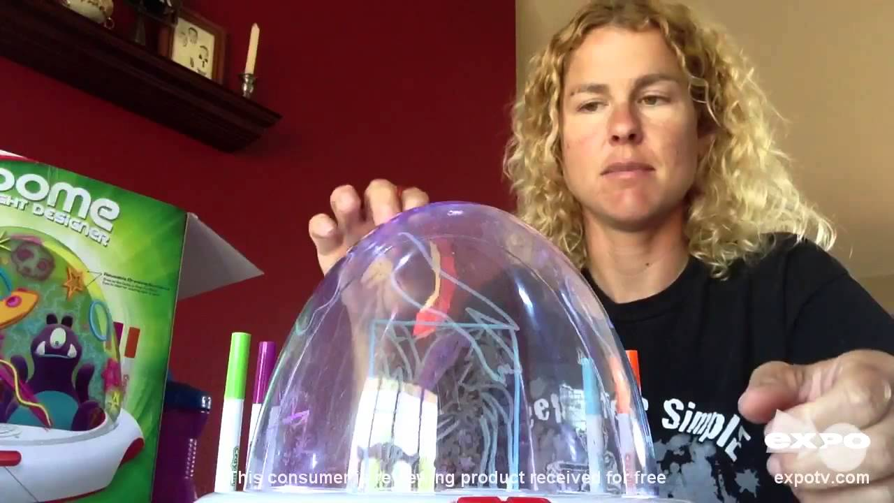 Crayola Review Crayola Dome Light Designer Youtube
