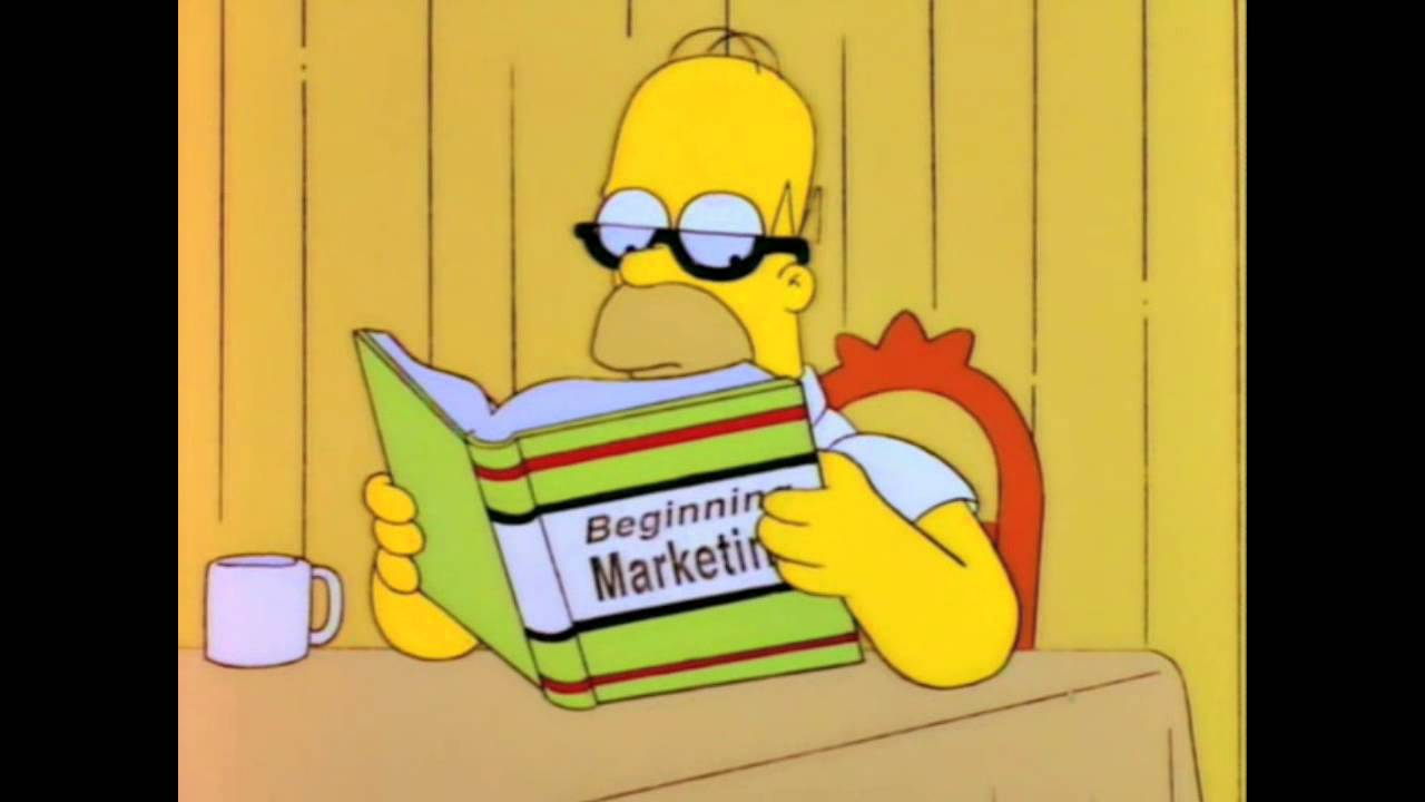 Image result for homer reading