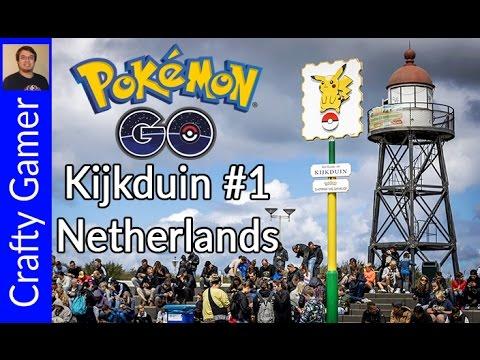 Pokemon GO at Kijkduin, the Pokemon capital of the Netherlands!!