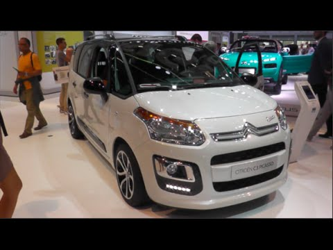 citroen c3 picasso 2016 in detail review walkaround interior exterior youtube. Black Bedroom Furniture Sets. Home Design Ideas