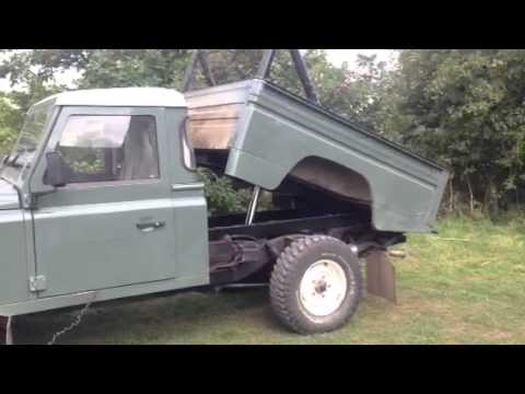Land Rover Tipper Conversion Youtube