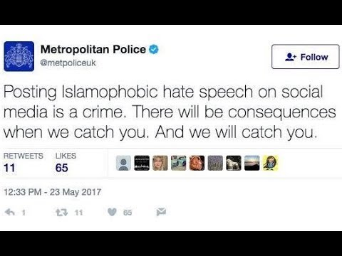 The British Twitter Police