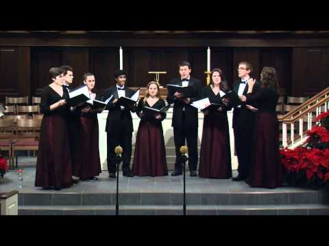Cantate Domino (Giuseppe Pitoni) - Christopher Wren Singers - Christmas 2011