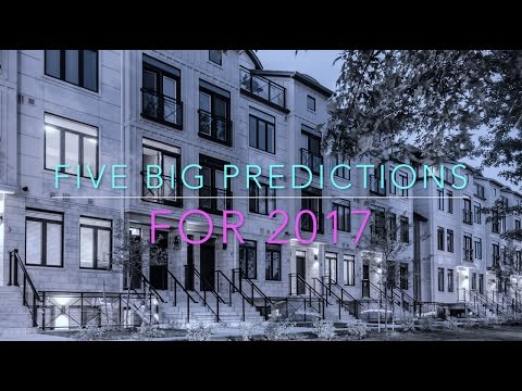 Toronto Real Estate Predictions [2017] :: Trends, Analysis and Investment Opportunities