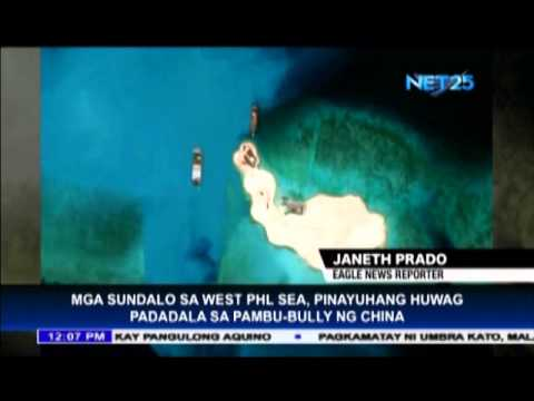 Military troops in West Philippine Sea should resist China's bullying