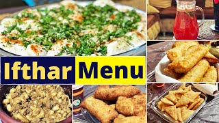 Iftar Menu/Dahi vada/Chicken roll/Cheese Samosa/Chicken Spring Roll/Rice Dumplings in Beef Curry