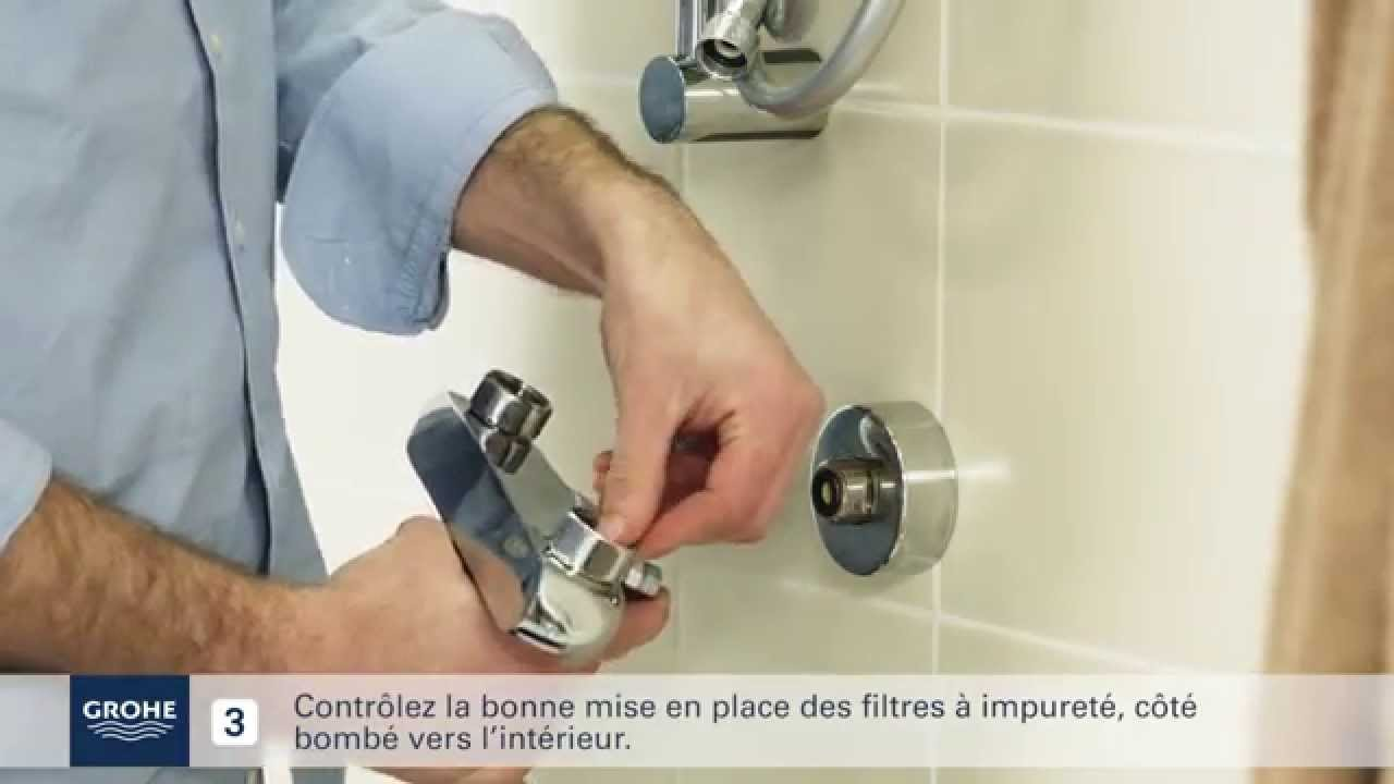 Comment Installer Facilement Un Mitigeur Monocommande Douche ?   YouTube