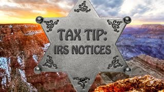 Tax Tip: IRS Notices