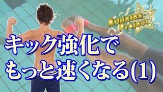 【バタフライ・クロール】バタフライと自由形のキック強化をする方法【泳ぎ方】【水泳】