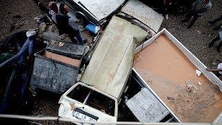 İzmir'de kuvvetli yağış hayatı olumsuz etkiledi