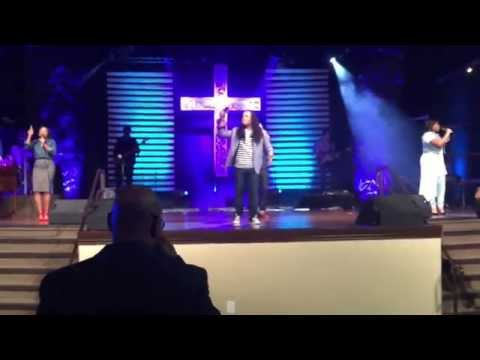 Timothy Reddick sings at The Potter's House Fort Worth Campus - You Are Everything