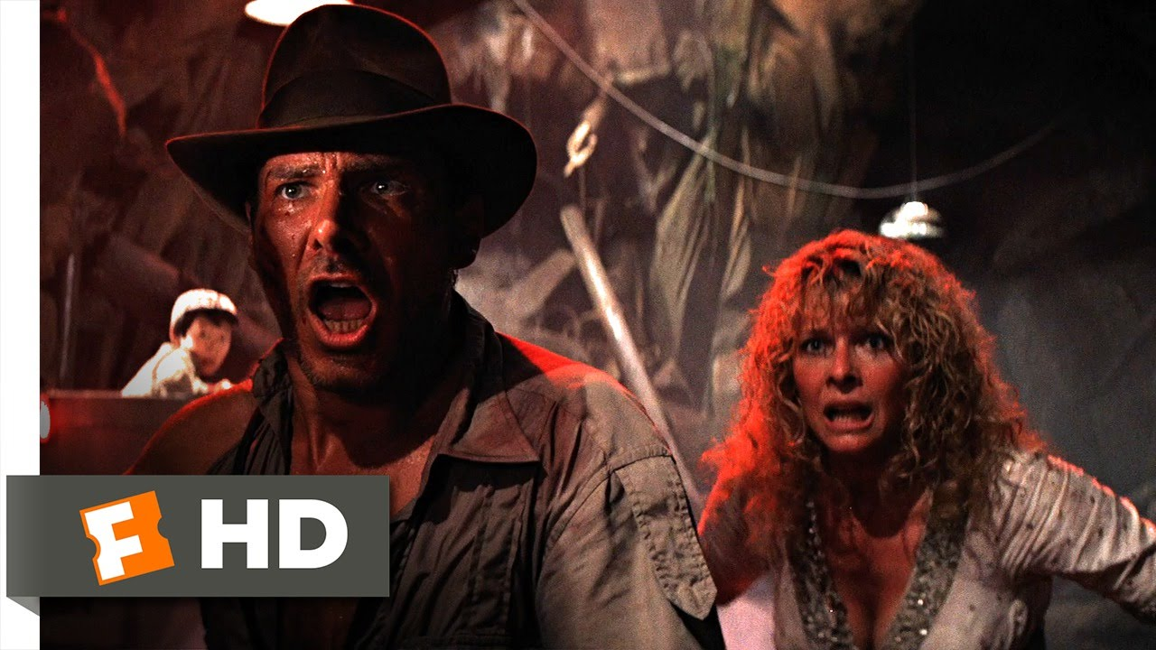 88c40ab0f Indiana Jones and the Temple of Doom (8/10) Movie CLIP - Water! Water!  Water! (1984) HD