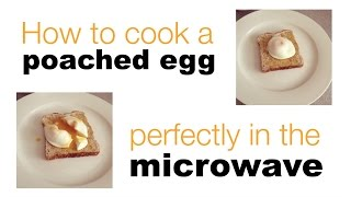 want easy perfect poached eggs here s how to do it in the microwave