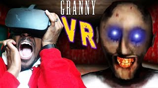 GRANNY NIGHTMARE MODE IN VR | Granny PC  Nightmare Mode VR Gameplay