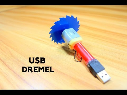 How to make a Mini USB Dremel Tool
