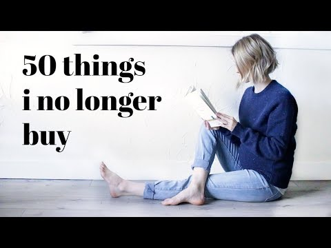 50 THINGS I DONT BUY | Minimalism Series
