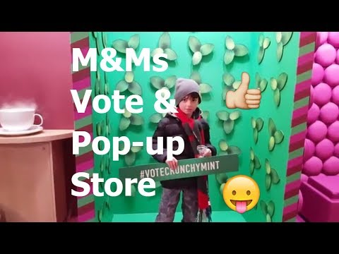 New M&Ms Flavour Vote 2018 | Taste Test and Pop-up Store (Toronto) Mp3