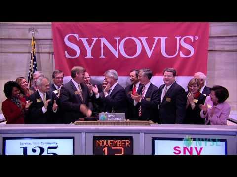 Synovus Celebrates its 125th Anniversary at the NYSE