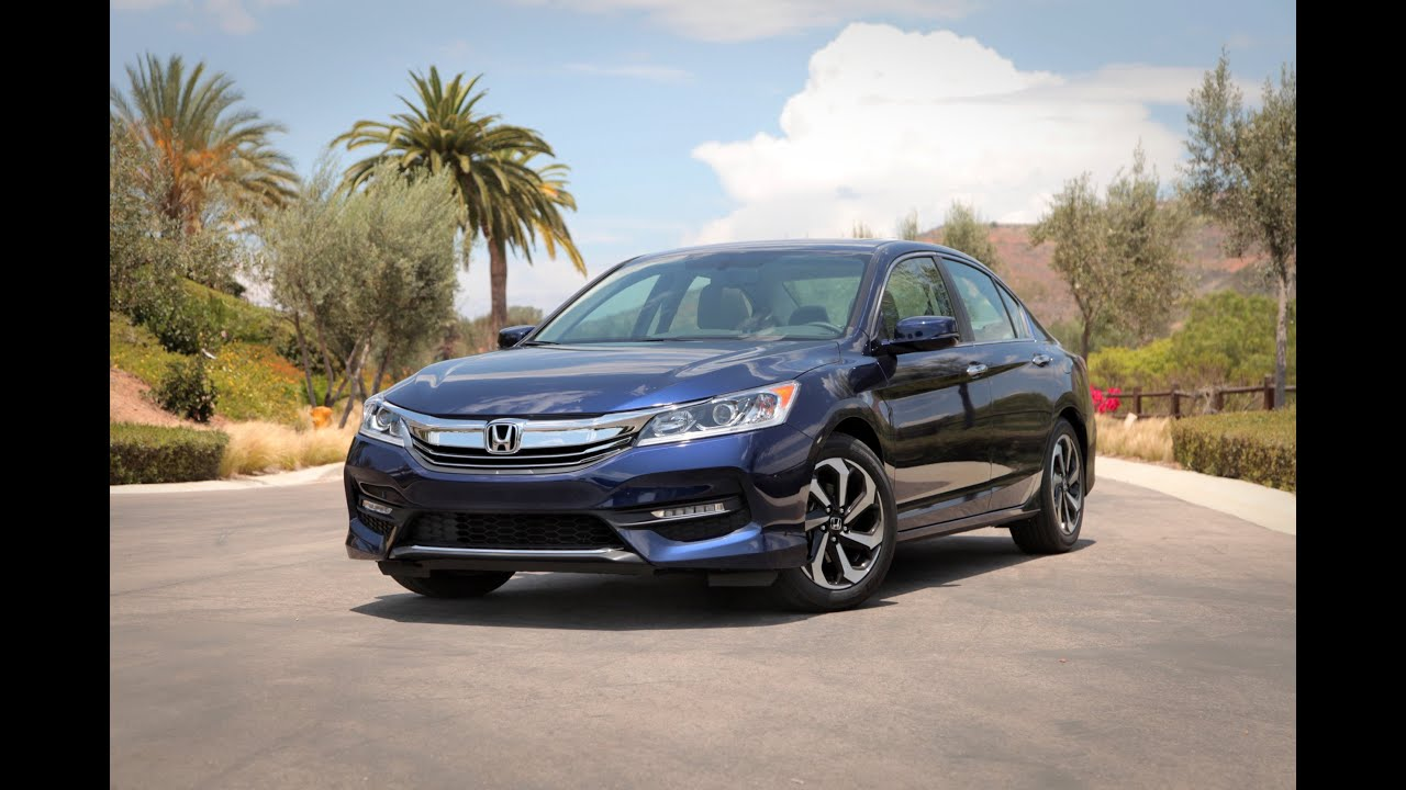 2016 Honda Accord Review - First Drive - YouTube