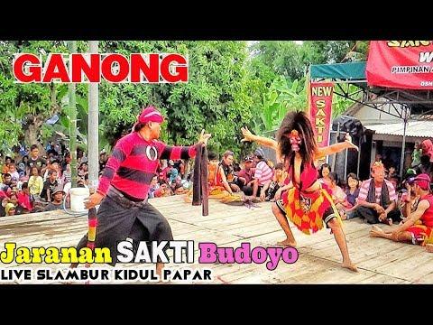 Ganongan Full (Jogetan, Dagelan & Atraksi) Jaranan New Sakti Budoyo Live Slambur Kidul Papar